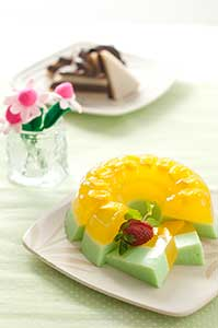 RESEP: Puding Mangga Melon