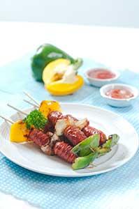 RESEP: Sosis Bakar & Ayam Panggang Lada Hitam