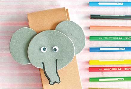 Cara Membuat Tempat Pensil Gajah dari Foam Art
