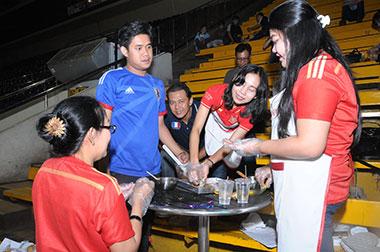 Jakarta Book Fair 2014 Part 1 : Bagi Kue, Bagi Resep, Bagi Ilmu.. Gratis!!