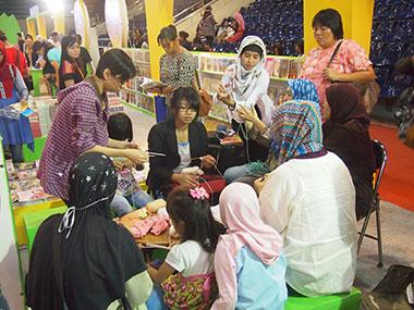 Jakarta Book Fair 2014 Part 2 : Workshop Gratis untuk Pembaca Tercinta