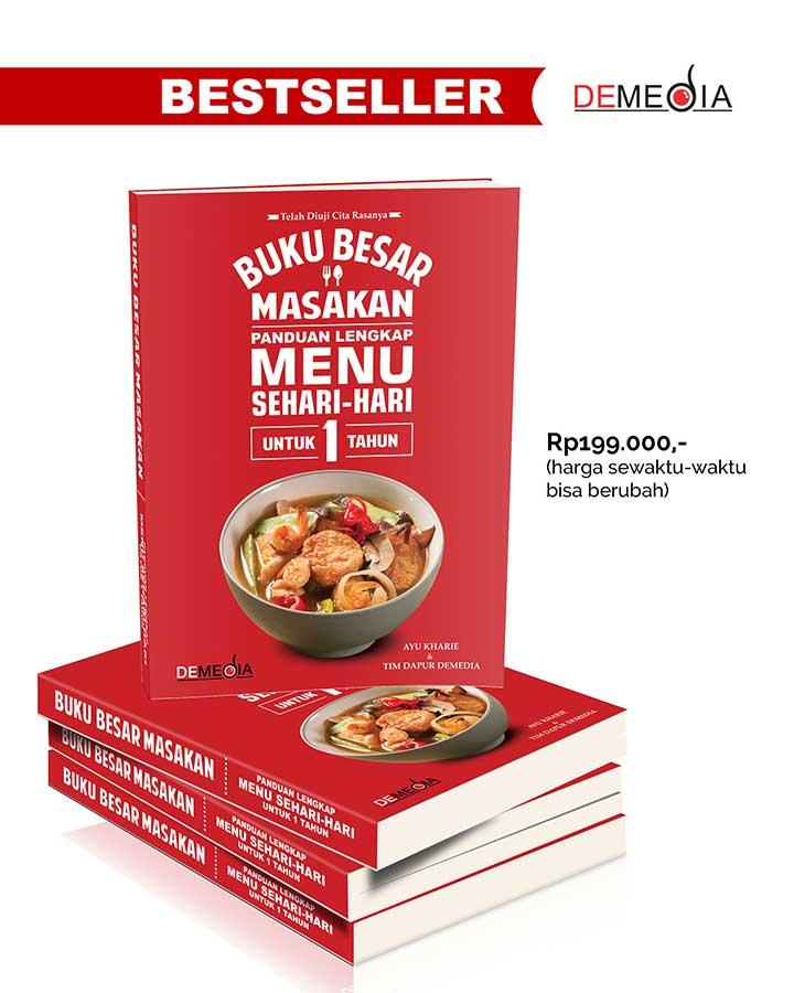 Demedia Penerbit Buku Aneka Resep Masakan Kuliner