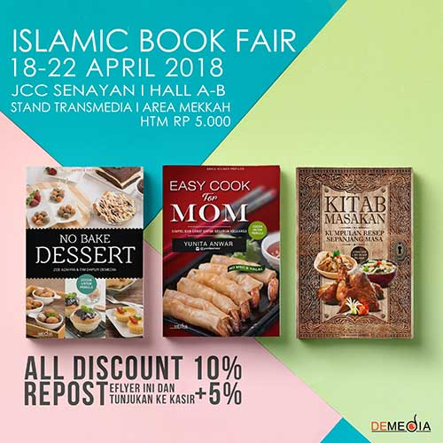 islamic book fair 2018 demedia pustaka
