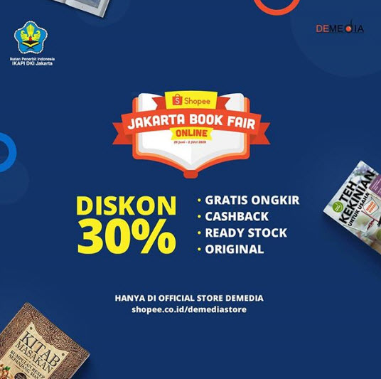 demedia shopee Jakbook