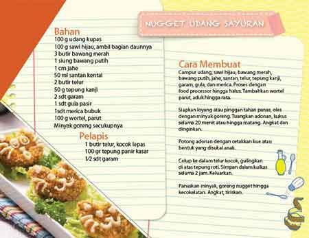 Nugget Udang Sayuran