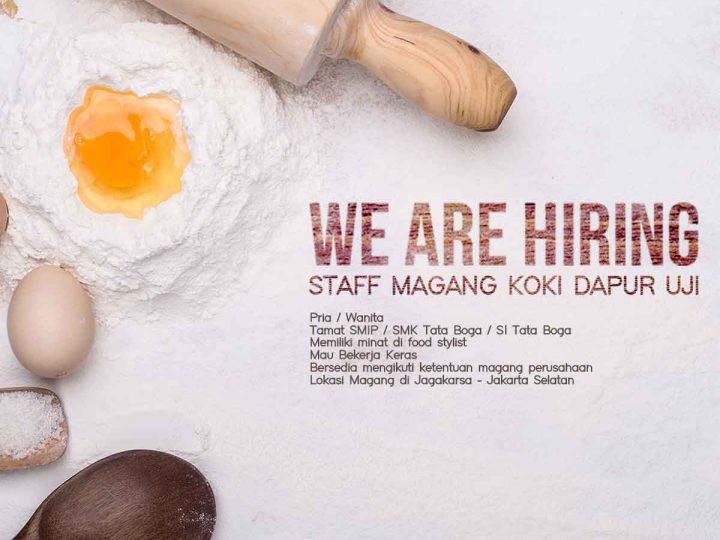 Staff Magang Koki Dapur Uji